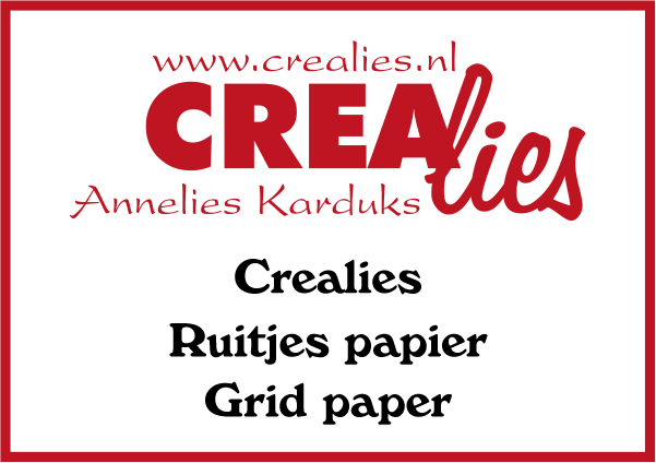 Download Crealies Ruitjes papier Grid paper