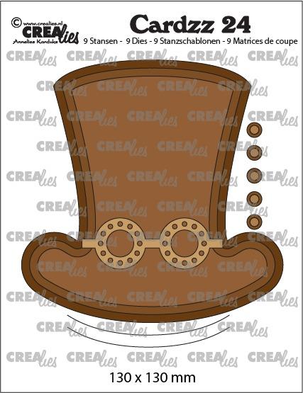 Steampunk hoed + bril