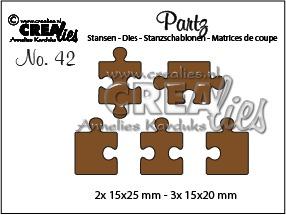 5x Puzzle pieces