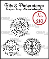3x Gears (outline)