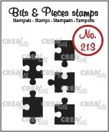 5x Puzzle pieces (closed)