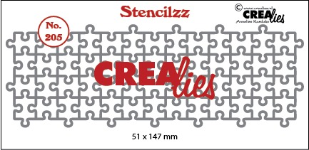 Stencilzz no. 205, Puzzelstukjes