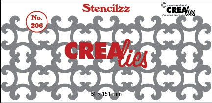 Stencilzz no. 206, Ornaments