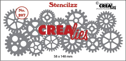 Stencilzz no. 207, Sprockets