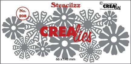 Stencilzz no. 208, Flowers