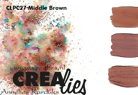 Pigment Colorzz, Middle Brown no. 27