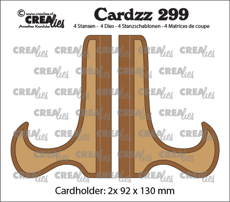 Cardzz die cutting no. 299, Card stand