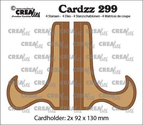 Cardzz stansen no. 299, Kaartenstandaard