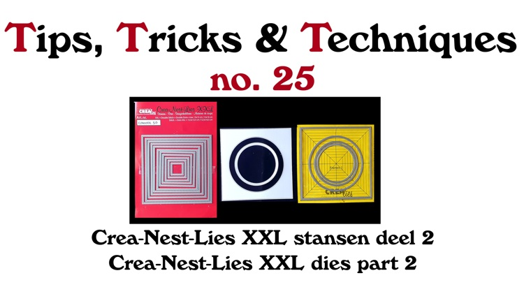 Crealies TTT no. 25: Crea-Nest-Lies XXL dies part 2