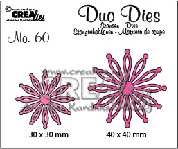Duo Dies no. 60, Open flowers 25