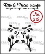 Bits & Pieces stempel no. 218, Mini blaadjes 11