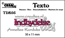Texto dies no. 05, Indbydelse