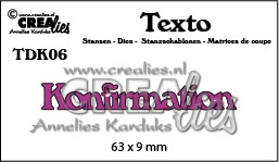 Texto dies no. 06, Konfirmation