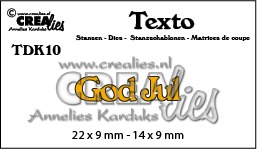 Texto dies no. 10, God Jul