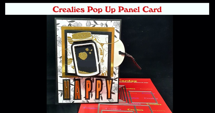 Crealies Pop Up Panel Card (English spoken)