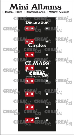 Decoration for mini album no. 99, circles