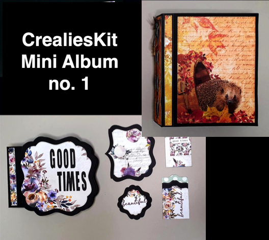 CrealiesKit Mini Album no. 1