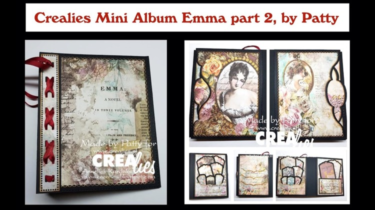 Crealies Mini Album Emma part 2, by Patty