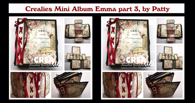 Crealies Mini Album Emma part 3, by Patty