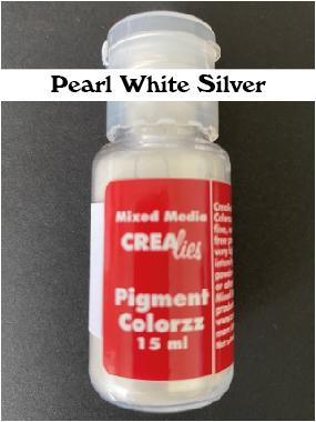 Parelmoerpoeder wit-zilver