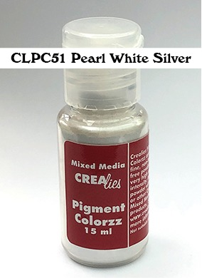 Pearl powder white-silver