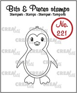 Bits & Pieces stempel no. 221, Pinguïn