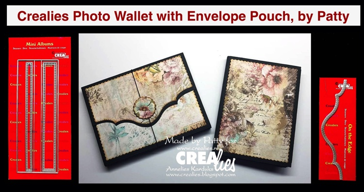 20 08 31 Crealies Photo Wallet with Envelope Pouch, by Patty