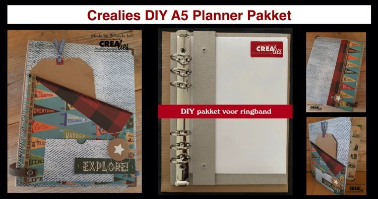 20 09 06 Crealies DIY A5 Planner Package