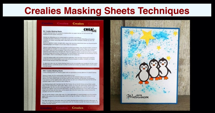 20 09 10 Crealies Masking Sheets Techniques