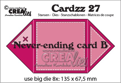 Cardzz dies no. 27, Never ending Card B
