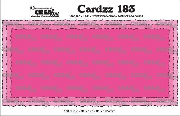 Cardzz stansen no. 183, Slimline C