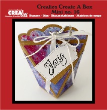 Create A Box Mini dies no. 16, Bag box mini
