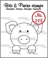 Bits & Pieces stamp no. 223, Pig