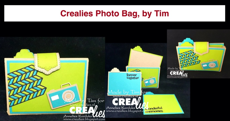 20 10 06 Crealies Photo Bag, by Tim
