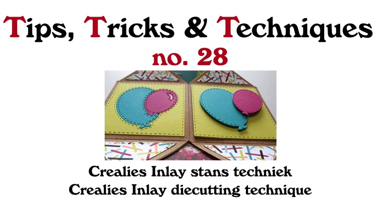 Crealies TTT no. 28: Crealies Inlay die cutting technique
