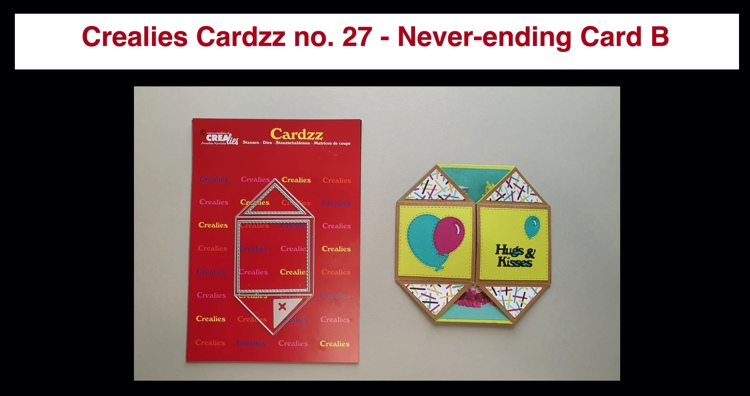 20 10 13 Crealies Cardzz no. 27 - Never-ending Card B