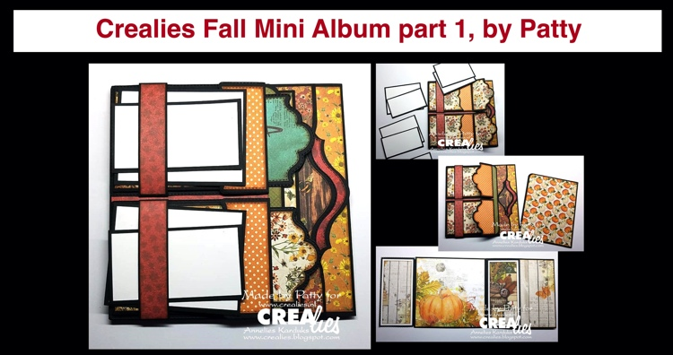 20 10 26 Crealies Fall Mini Album part 1, by Patty