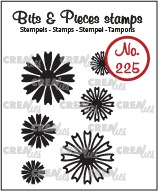 Bits & Pieces stempel no. 225, Mini bloemen 26