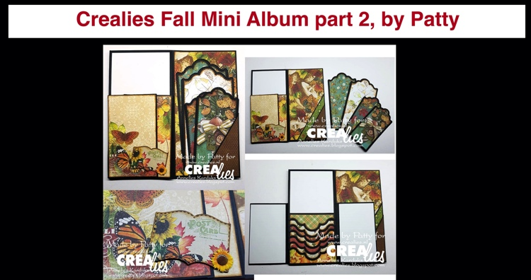 20 11 02 Crealies Fall Mini Album part 2, by Patty