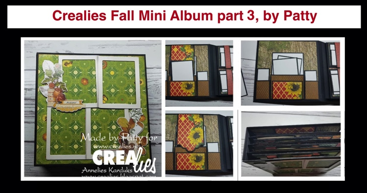 20 11 09 Crealies Fall Mini Album part 3, by Patty