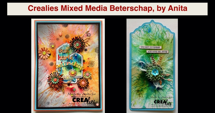 20 11 19 Crealies Mixed Media Beterschap, by Anita