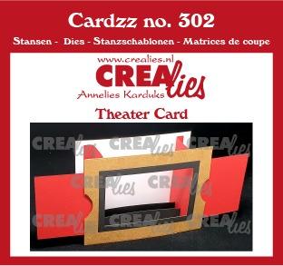Cardzz dies no. 302, Theater Fold Card