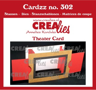 Cardzz stansen no. 302, Theaterkaart