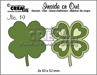 Inside or Out dies no. 19, Lucky clover