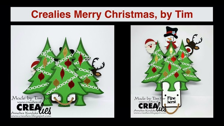 20 12 25  Crealies Merry Christmas, by Tim