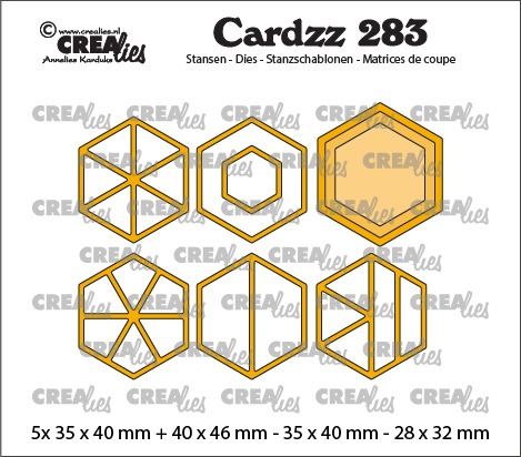 Cardzz stansen no. 283, Elements zeshoeken
