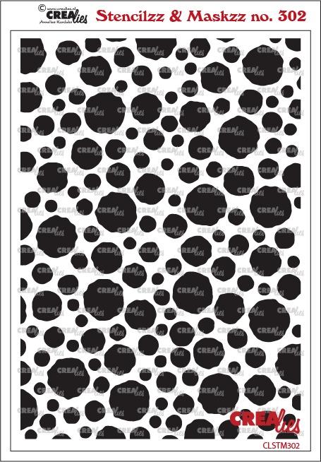 Stencilzz & Maskzz no. 302, Cirkels met ruwe randen