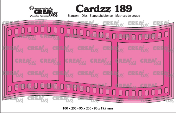 Cardzz stansen no. 189, Slimline I, Filmrol