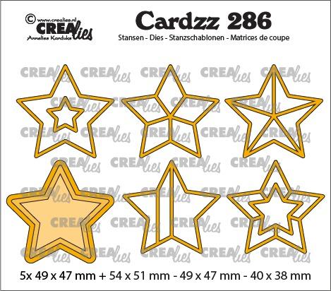 Cardzz Elements stansen no. 286, sterren