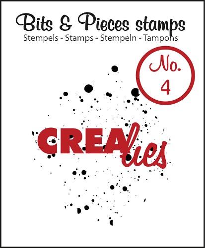 Bits & Pieces stempel/stamp no. 4, Ink splashes